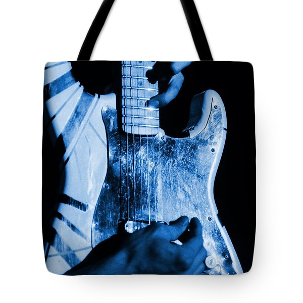 Vh #1 In Blue  Tote Bag