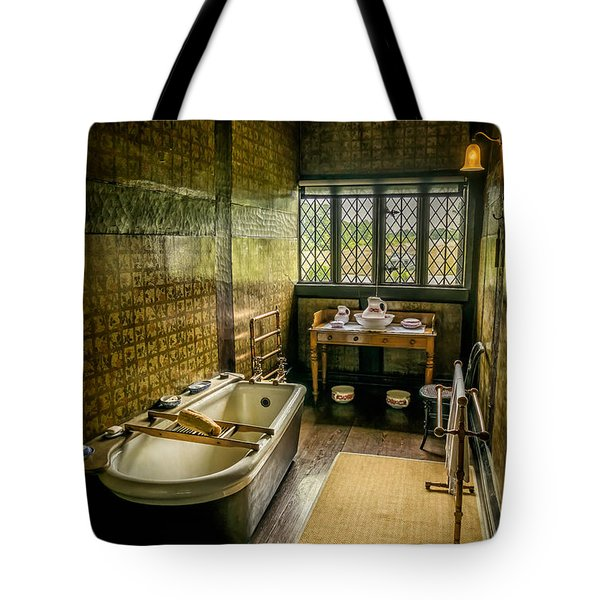 Tote Bag featuring the photograph Victorian Wash Room by Adrian Evans