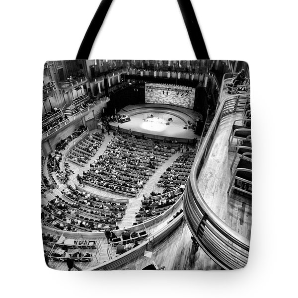 View From The Upper Balcony At Strathmore Music Center Tote Bag