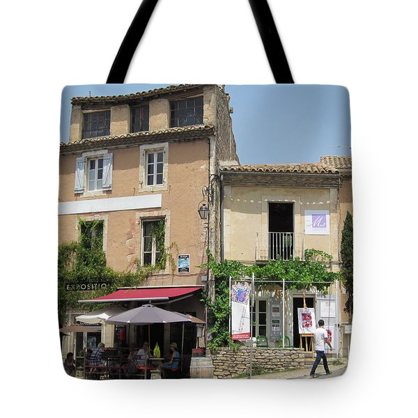 Village Life Tote Bag by Pema Hou