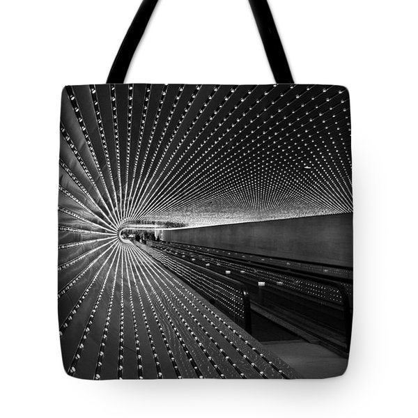 Tote Bag featuring the photograph Villareal's Multiuniverse by Cora Wandel