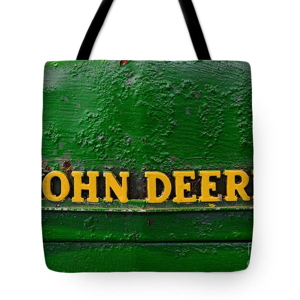 Vintage John Deere Tractor Tote Bag