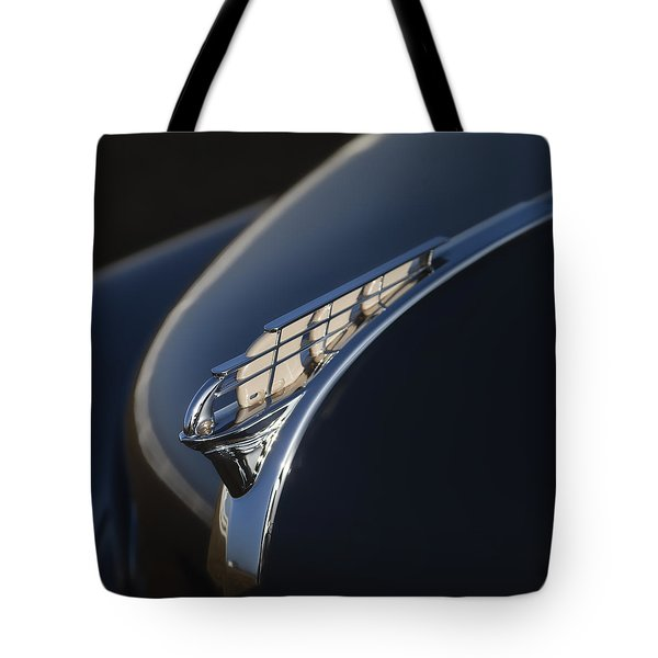 Vintage Plymouth Hood Ornament Tote Bag