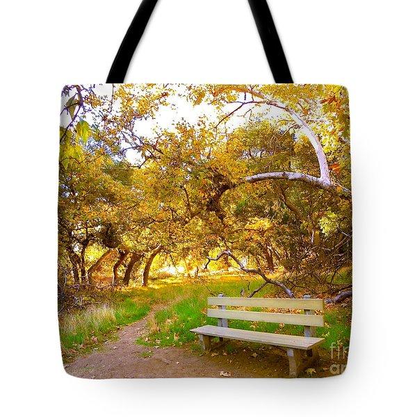 Visionary's Path Tote Bag