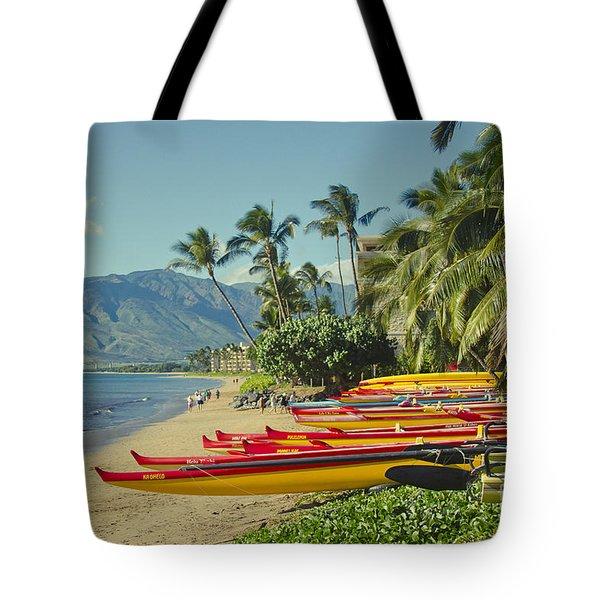 Kenolio Beach Sugar Beach Kihei Maui Hawaii  Tote Bag