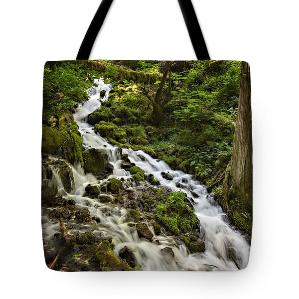 Wahkeena Creek Tote Bag