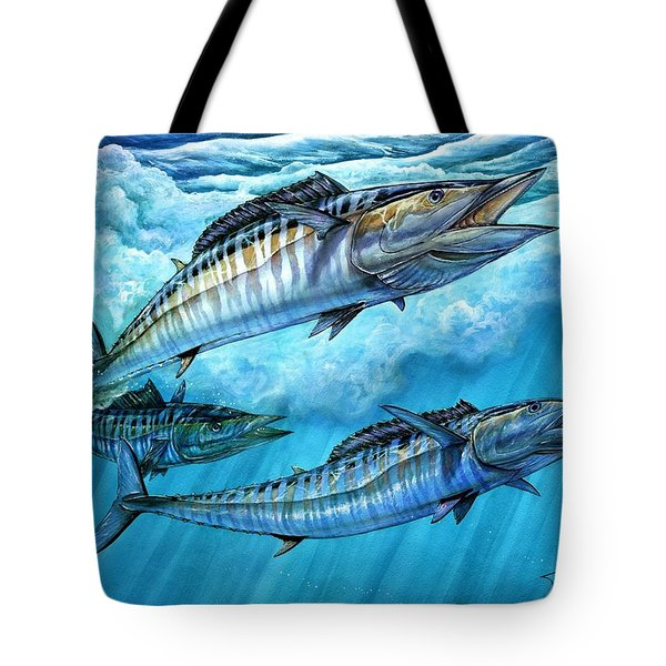 Wahoo In Freedom Tote Bag
