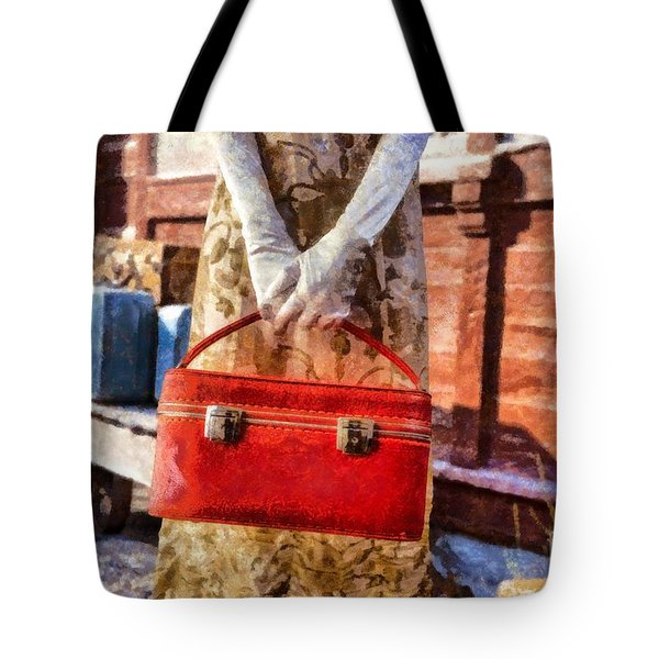 The Woman On Platform 8 Tote Bag