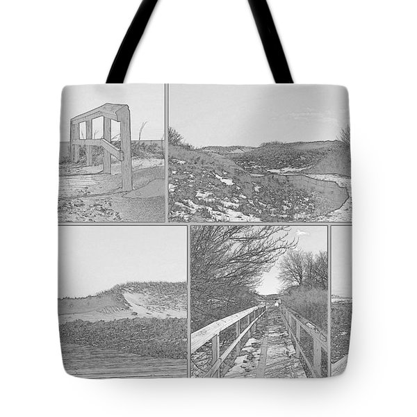 Walk With Me Tote Bag by Nancie DeMellia