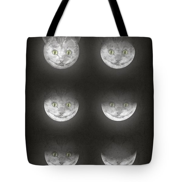 Waning Cheshire Tote Bag