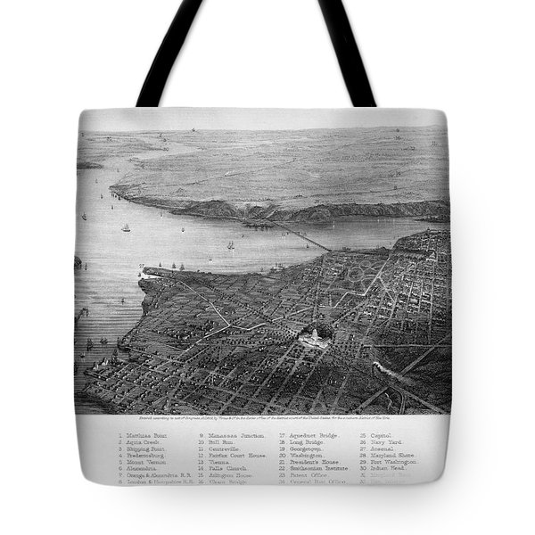 Washington, D.c., 1862 Tote Bag by Granger