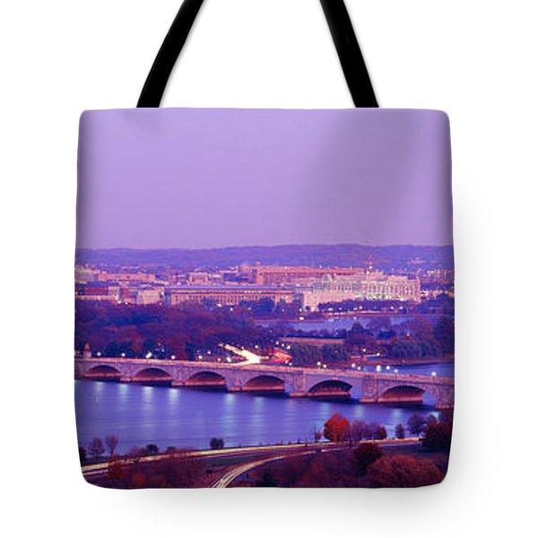 Washington Dc Tote Bag by Panoramic Images