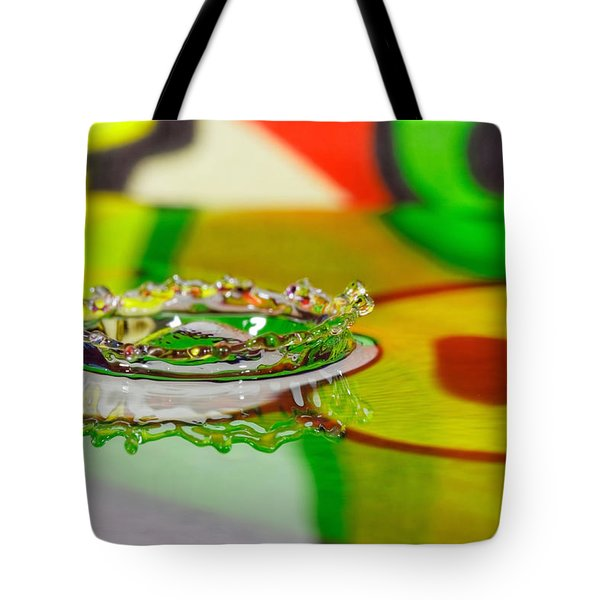 Water Crown Tote Bag