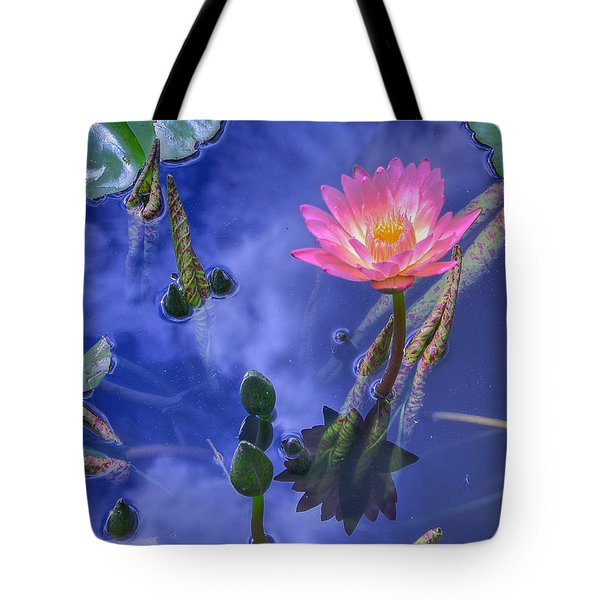 Flower 7 Tote Bag