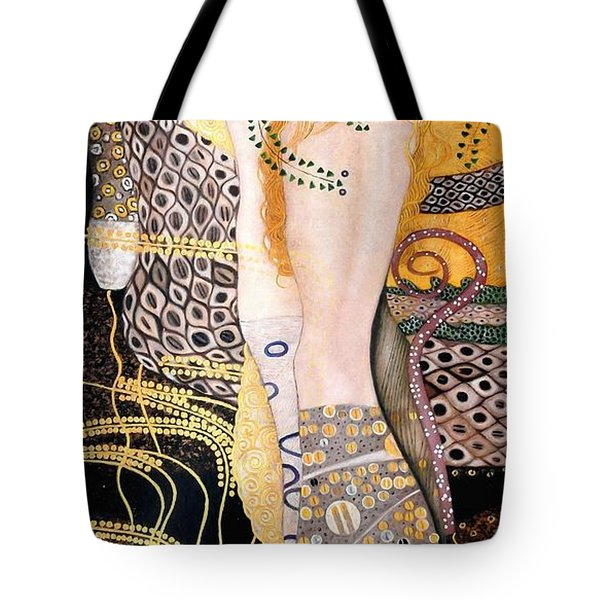 Water Serpents I Tote Bag