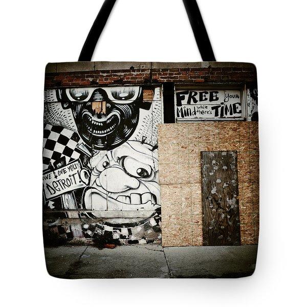We Love You Detroit Tote Bag