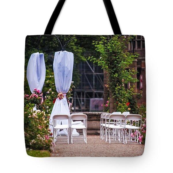 Wedding Arrangement In De Haar Castle. Utrecht Tote Bag by Jenny Rainbow