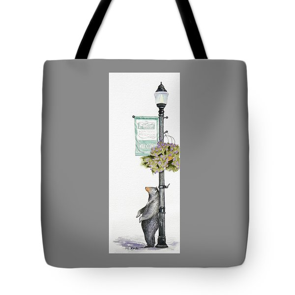 Welcome To Bozeman Tote Bag