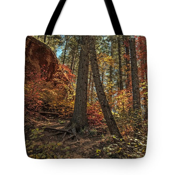 West Fork Fall Color Tote Bag