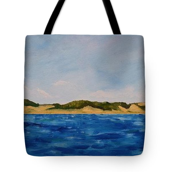 West Michigan Dunes Tote Bag
