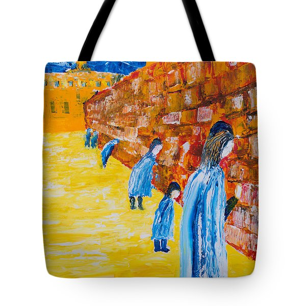 Western Wall Tote Bag