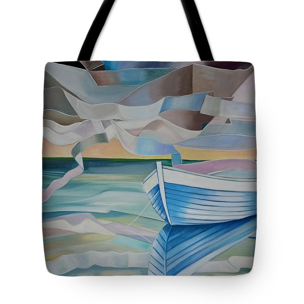 What I Saw In The Water Tote Bag