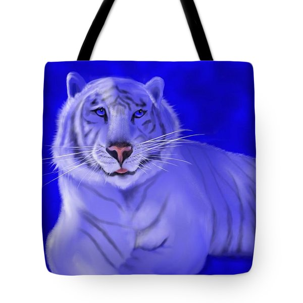 White Tote Bag by William  Paul Marlette