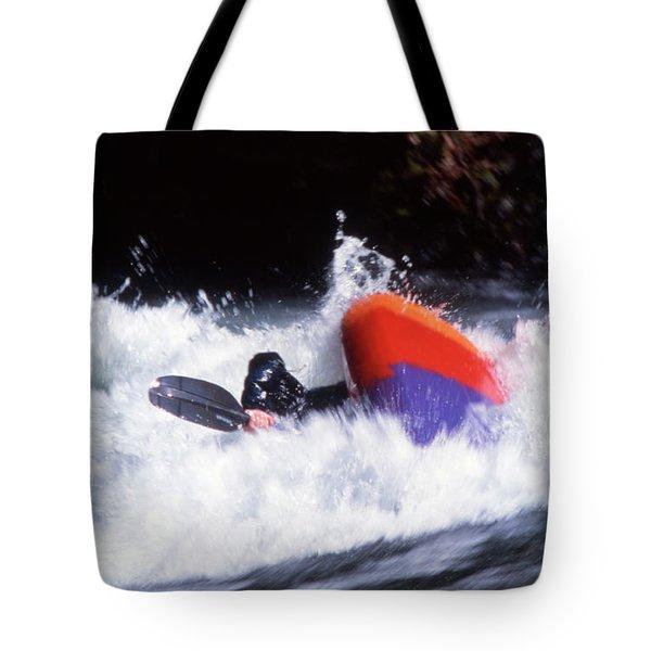 Whitewater Kayak Rodeo, British Tote Bag