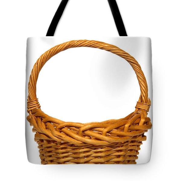 Wicker Basket Number Eleven Tote Bag