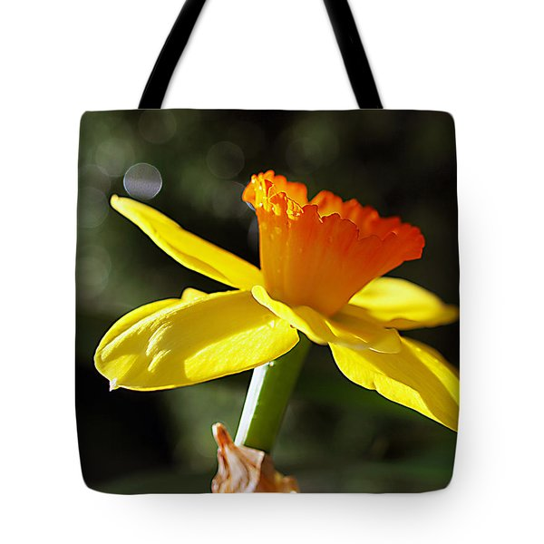 Tote Bag featuring the photograph Wide Open by Joe Schofield