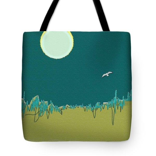 Wild Grasses Tote Bag by Lenore Senior