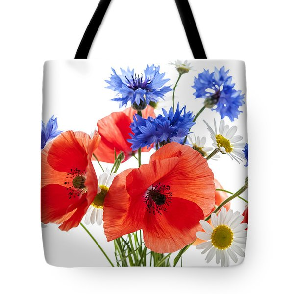 Wildflower Bouquet Tote Bag by Elena Elisseeva