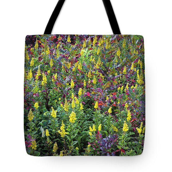 Wildflower Meadow Tote Bag by John Greim
