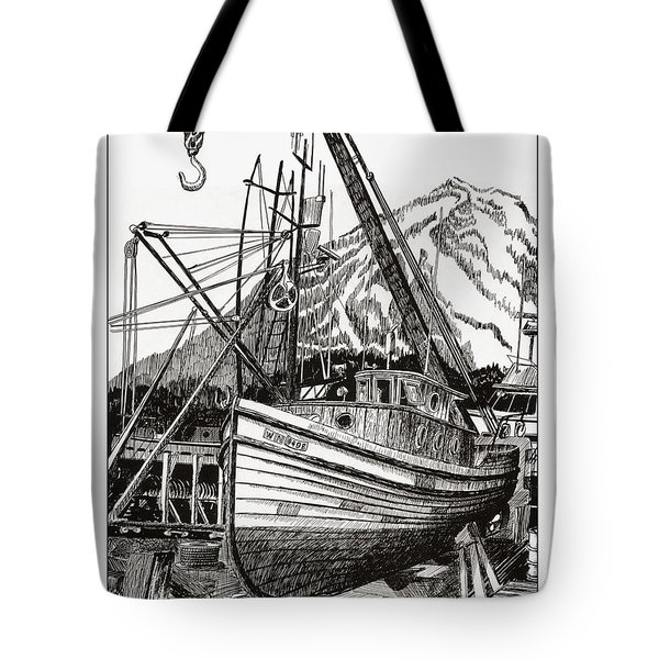 Will Fish Again Another Day Tote Bag by Jack Pumphrey