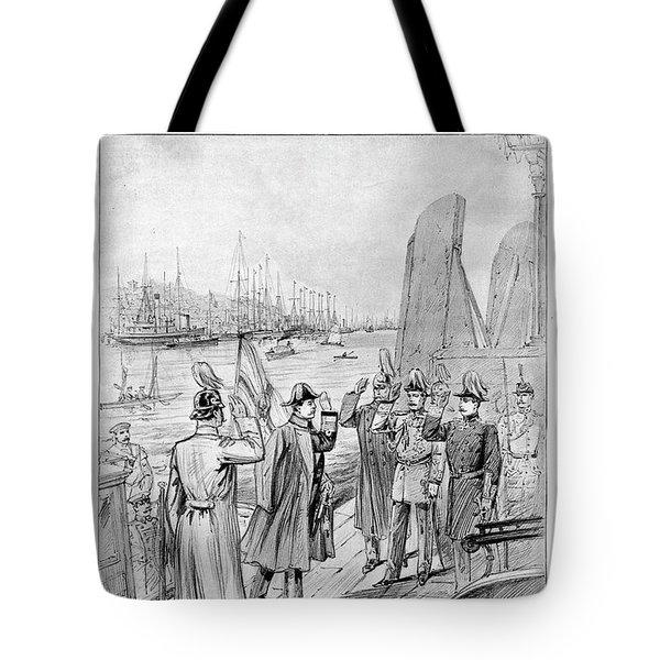 William II Of Germany (1859-1941) Tote Bag