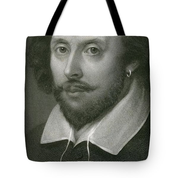 William Shakespeare Tote Bag by English School
