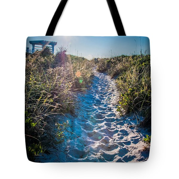 Wilmington Coastal Scene Wilmington North Carolina Tote Bag