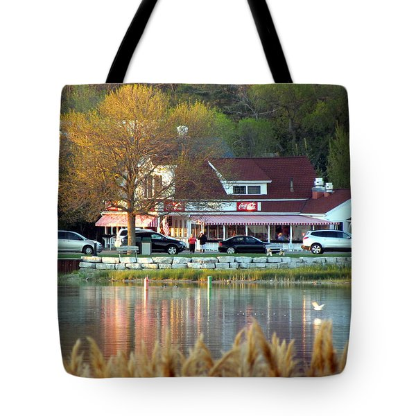 Wilson's Ice Cream Parlor Tote Bag