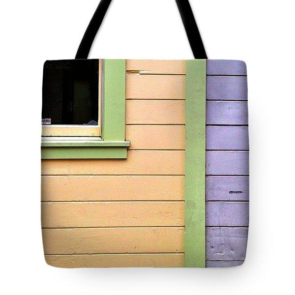 Window Corner Tote Bag
