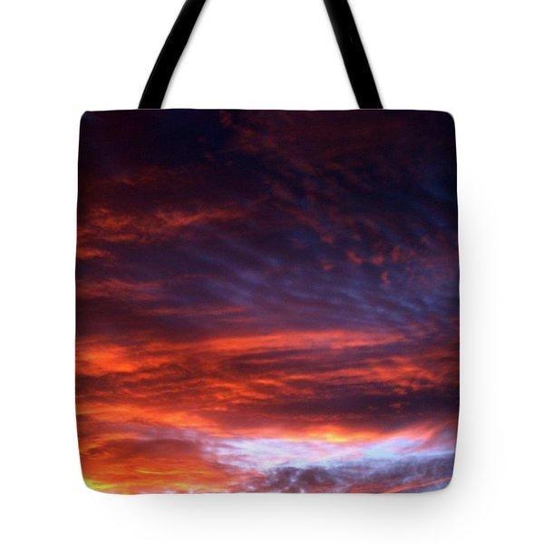 Windows Of Heaven Tote Bag by Julia  Walsh