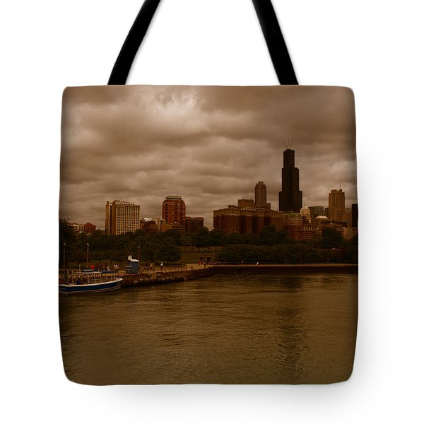 Windy City Tote Bag