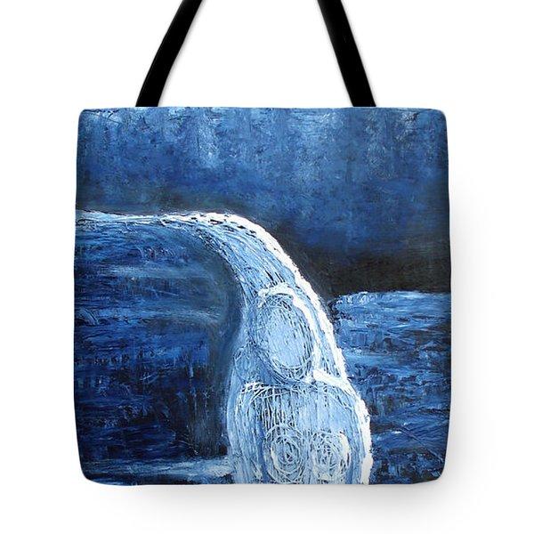 Winter Goddess Tote Bag