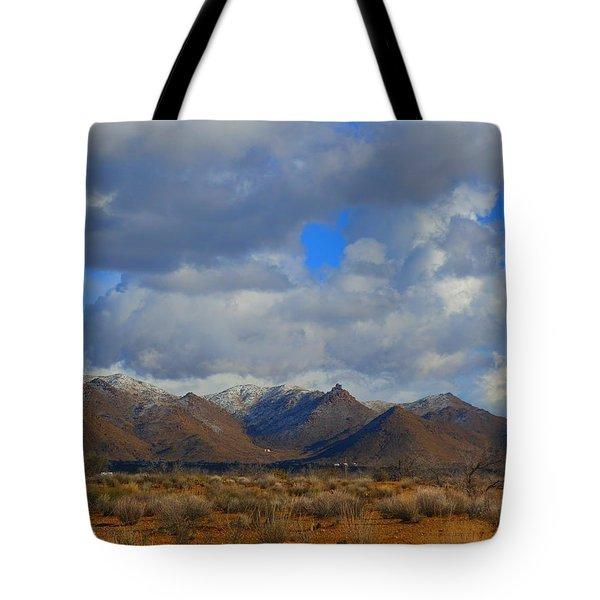 Winter In Golden Valley Tote Bag