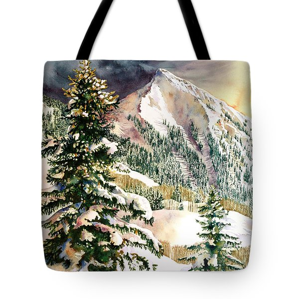 Winter Morning Prism Tote Bag