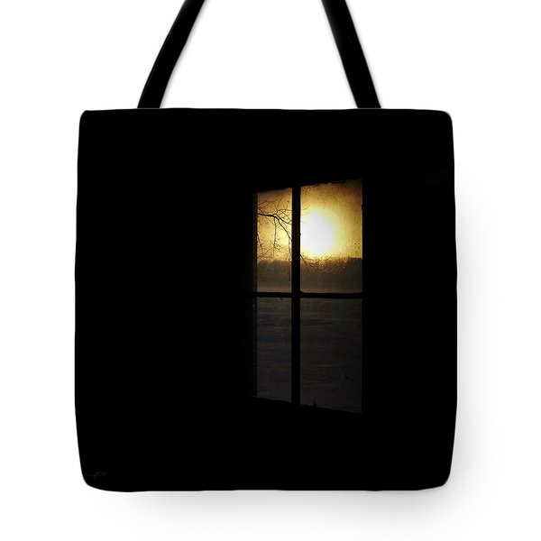 Winter Sunset Tote Bag by Cynthia Lassiter