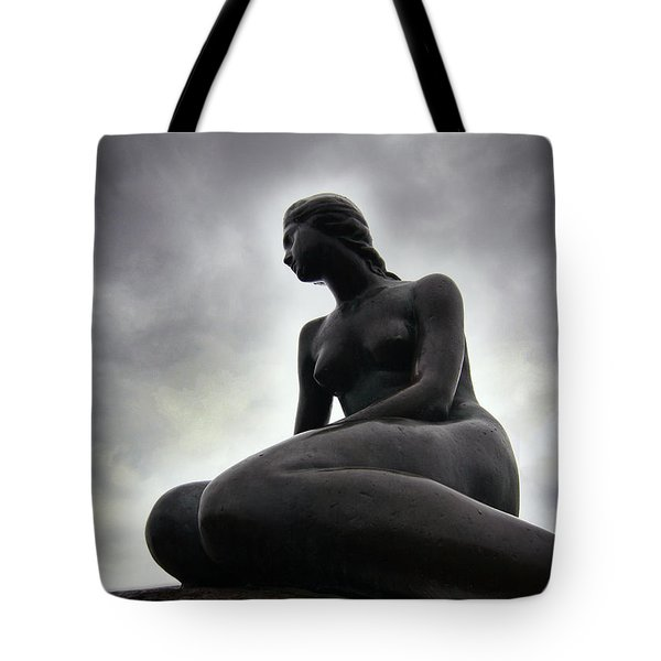 Woman Standing Strong Tote Bag
