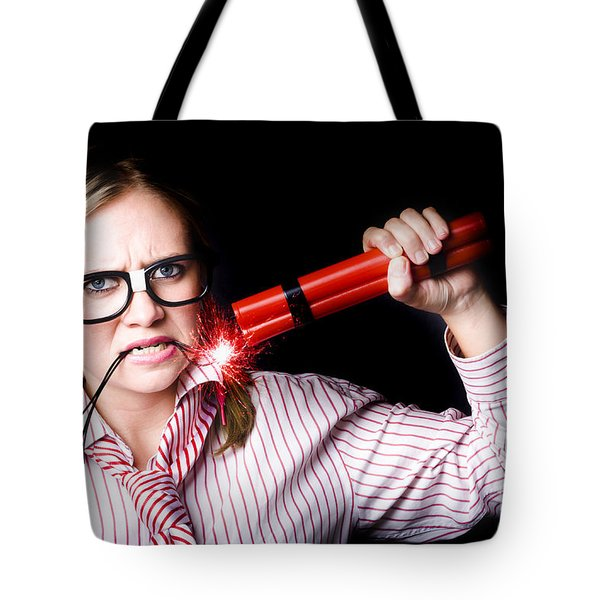 Workers Union Representative Taking Strike Action Tote Bag