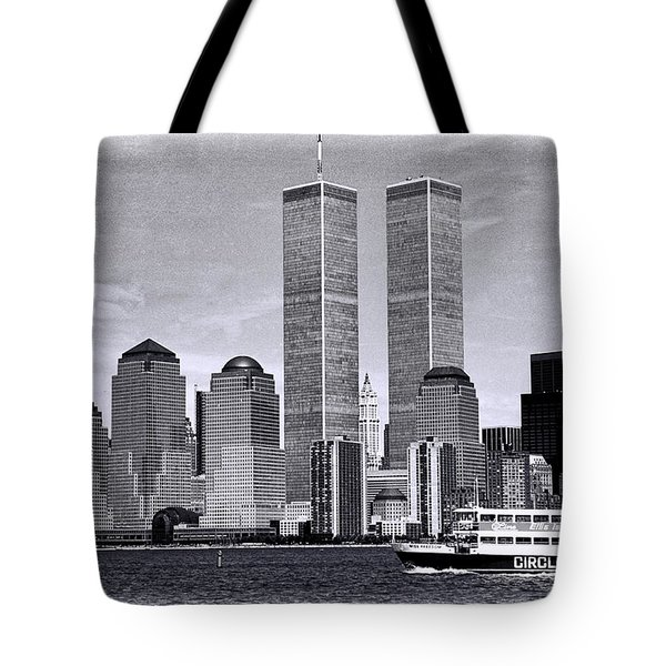 World Trade Center 3 Tote Bag
