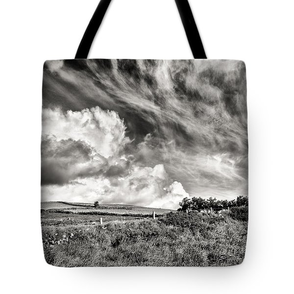Written In The Wind Tote Bag by William Beuther