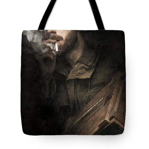 Ww2 Ground Infantry Soldier Carrying Ammunition Tote Bag